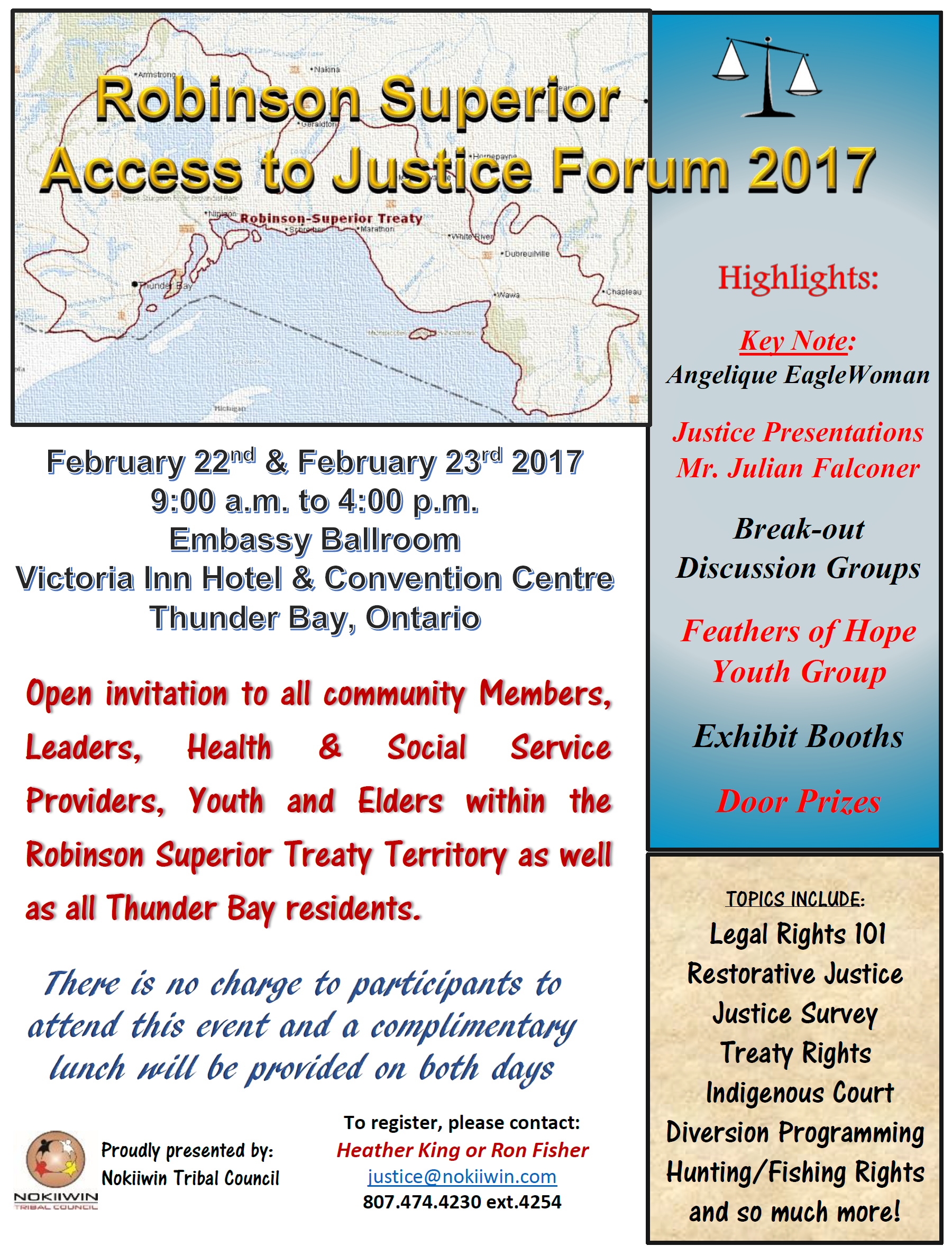Justice Forum Poster